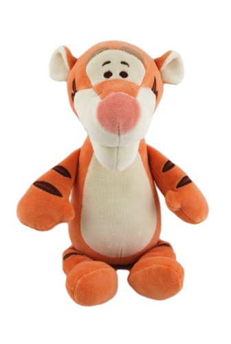 Disney Tigger Certified Organic Plush Toy With Soft Chime, 11 Inch