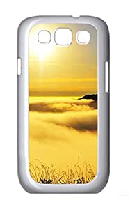Samsung Galaxy S3 I9300 Cases & Covers - Yellow Landscape Custom PC Soft Case Cover Protector for Samsung Galaxy S3 I9300 - White