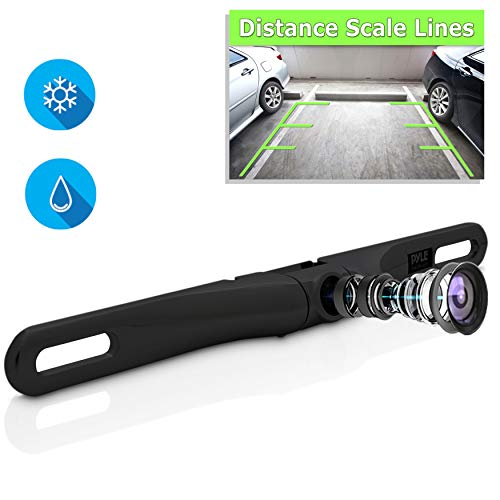 License Plate Rear View Camera - Built-in
