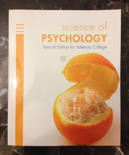 Science of Psychology Special Edition for Valencia College