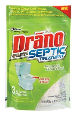 Drano Septic Treatment 1500 Gal. by Johnson S.C. & Sons Inc.