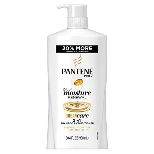 Pantene Pro-V Daily Moisture Renewal 2 in 1 Shampoo and Conditioner, 30.4 oz Renewal 2in 1 Shampoo Conditioner