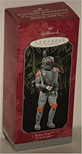 Amazon.com: Hallmark Keepsake Ornament Star Wars (Boba Fett): Home ...