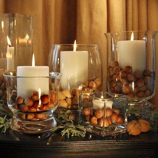 Tolle Vasen Mit Großen Kerzen Und 5 Muttern Selection U2013 Umwerfende Tisch  Herzstück Für Weihnachten Tag