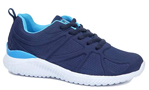 Kids Athletic Tennis Shoes - Little Kid Sneakers with Girl and Boy Sizes (11) Blue Light Blue