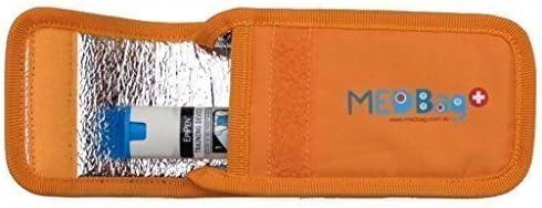 Estuche Doble de EpiPen Color Naranja: Amazon.es: Bebé
