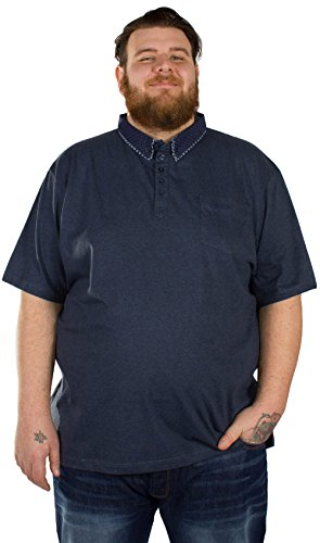 Espionage Herren Poloshirt blau navy XXXX-Large