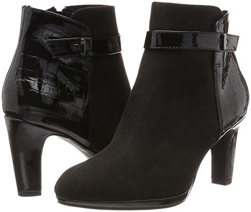 Bottes black Tamaris Femme Comb 25385 Noir T6vzxZq