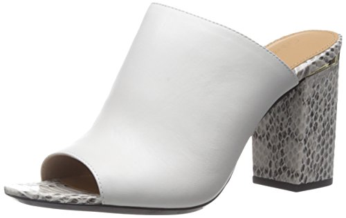 Platinum Sandal Dress Calvin Women's White Klein Cice ZAqxBWFX