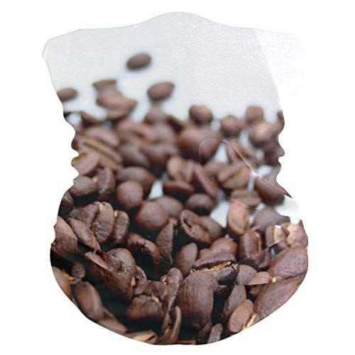 (Coffee Beans Headband Womens Bandana Multifunctional Mens Balaclava, Neck Warmer, Face Mask, Headwear Wristband)