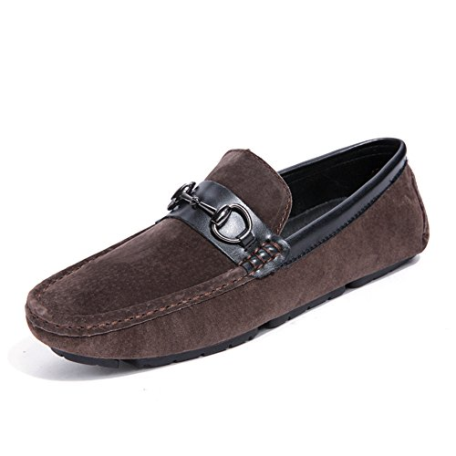 Slip con Marrone Flat Mocassini Scuro Color 38 Flat Scarpe Men's in fondo da Mocassini guida Casual EU fondo Ofgcfbvxd antiscivolo On da morbida pelle Dimensione Royalblue q7ZxSEnwnW