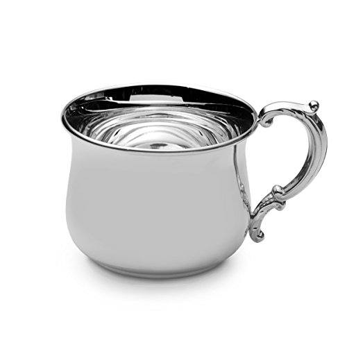 EMPIRE Pot Belly Sterling Heavy Baby Cup - Baby Cups/sterling