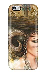 Awesome Devil Woman Fantasy Women Abstract Fantasy Flip Case With Fashion Design For Iphone 6 Plus