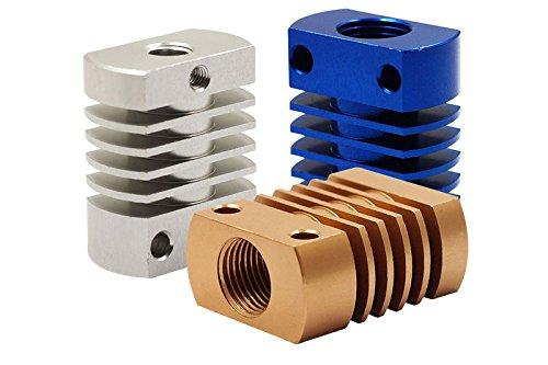 Fregadero de calor para MK10 V6 CREALITY CR-10 CR-10S disipador de calor 3D TWP CR8//CR10 1 azul impresora Bowden Extruder Hotend