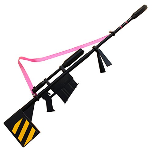 (Mtxc Gurren Lagann Cosplay Yoko Prop Toy Weapons Black)