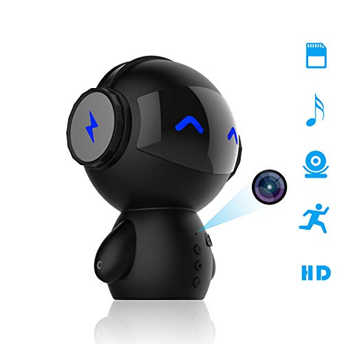 Hidden Camera Full HD 1080P [2019 Upgraded] - Beenwoon Premium Mini Spy Camera, Portable WiFi Hidden Camera Motion Detection, Wireless Security Camera for Home and Office
