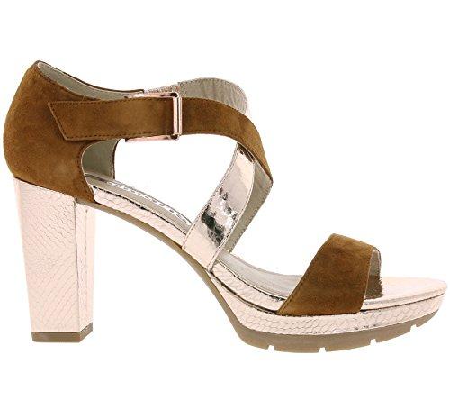 Marron femme Tamaris 36 1 mode sandales 28041 w4vqSY