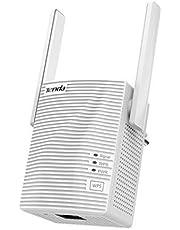 Tenda A18 netwerkrepeater, WLAN-extender (1200 AC, dual-band 2,5 GHz, 5 GHz, 100 Mbit/s, Fast Ethernet-poort, dubbele antenne)