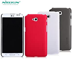 Deal4U Nillkin Frosted Hard Case Back Cover Case For LG D684 / G Pro Lite Gift Screen Protector #-# Color#=Brown