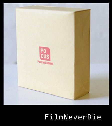 Focus Polaroid Album for Polaroid 600 / Sx-70 / Fuji Instax Wide Photos 48 Pics (Photo Album Polaroid 600)