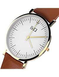 Watches for Men Women, BaIDI Quartz Wrist Watches Daily...