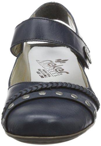 Rieker Women's 41978 Closed-Toe Pumps Blau (Royal/Denim 15) LFaNF0Ny8