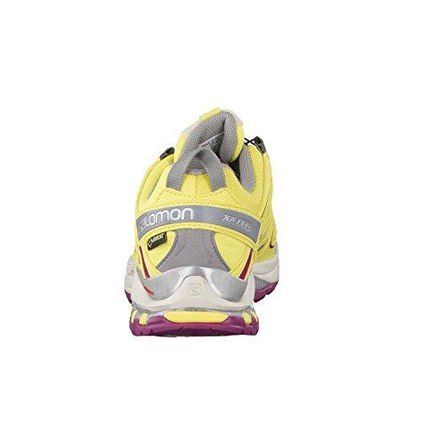 Salomon XA Pro 3D GTX pour Femme de Citrus x/Light Grey/Mystic Purple