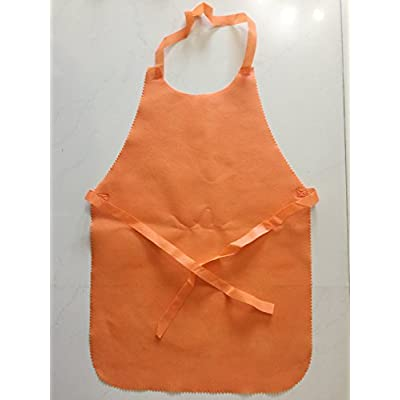 king's deal Children's 20Pcs(10color x 2) Non Woven Apron Painting Aprons for Kids Painting and Baking (20Apron): Home & Kitchen