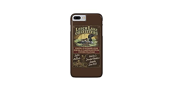 Minnesota - Leech Lake Outfitters Loon Vintage Sign (iPhone ...