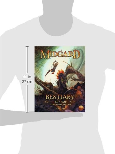 Midgard Bestiary (13th Age Compatible): Ash Law ...