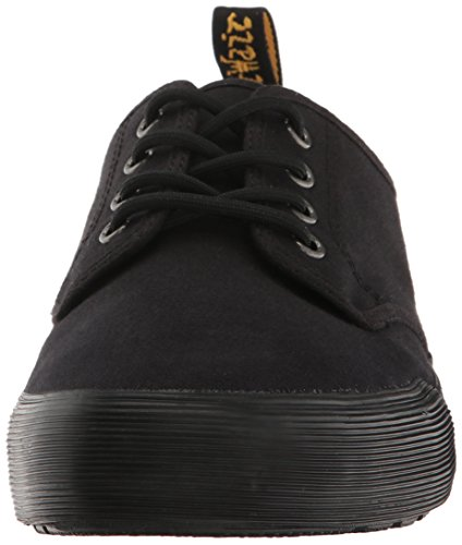 Dr Black Cotton Oz Canvas and 10 Martens Men's Derbys Black Black 001 Binding Pressler xrpnAT64x