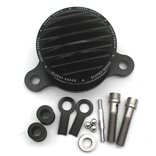 KIPA Sport Air Cleaner Intake Filter System Kit For Harley Davidson Sportster XL883 XL883N XL883R XL883P XL1200 XL1200L XL1200X Iron 883 Forty Eight XL1200X 2004-2016 Aluminum CNC Machined Washable by KIPA (Image #3)