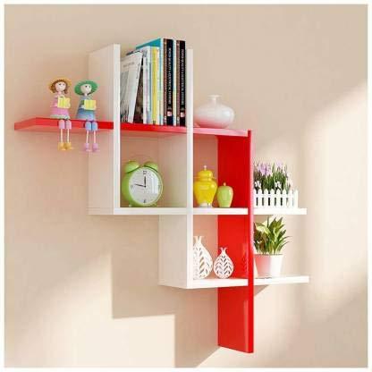 onlinecraft Wooden Wall Shelf
