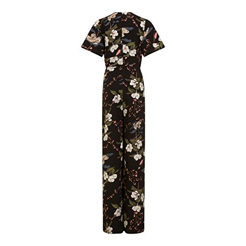 Mujer Mono Girls Para Negro Floral De On Film Largo Estampado B8qPF68w