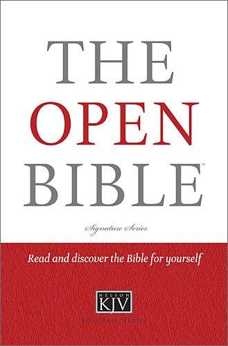 Read Online The Open Bible (Signature) pdf epub