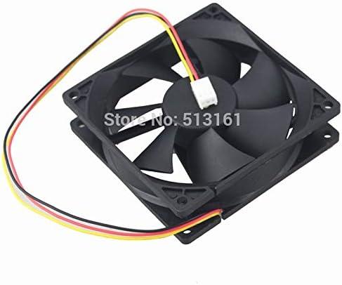 5pcs//lot Gdstime 92mm 9cm 92x92x25mm 12V 3Pin 9225 Brushless DC Cooler Cooling Case Fan