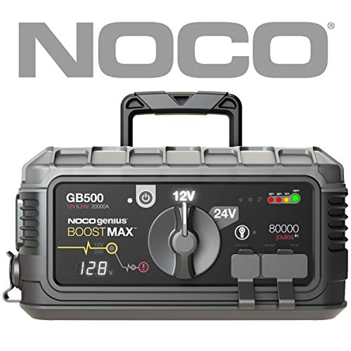 NOCO Boost Max GB500 20000 Amp 12V/24V UltraSafe Lithium, used for sale  Delivered anywhere in USA