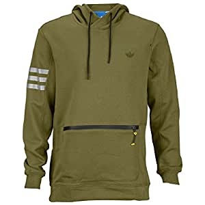 adidas SPORT LUXE HOOD Olive #S22770 (L)