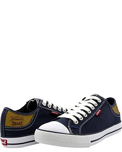 Mens Blu Della Sneaker Del Levis Stan Buck