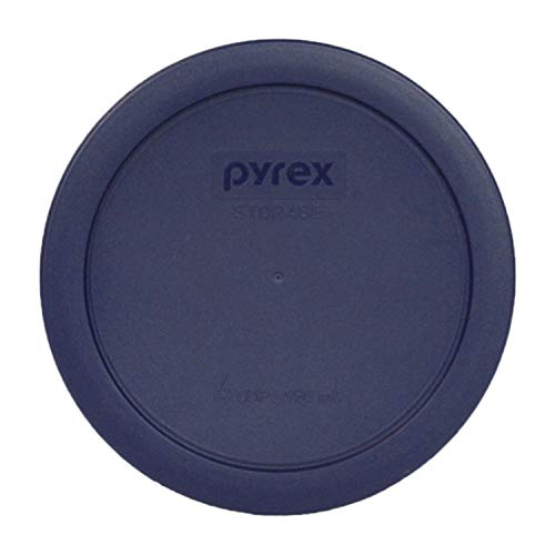 Pyrex 4 Cup Round Plastic Cover, Navy Blue