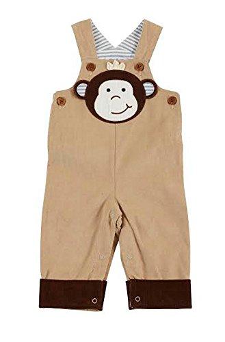 Pinwale Corduroy Shirt (Mud Pie Baby-boys Corduroy Monkey Overalls(9-12)