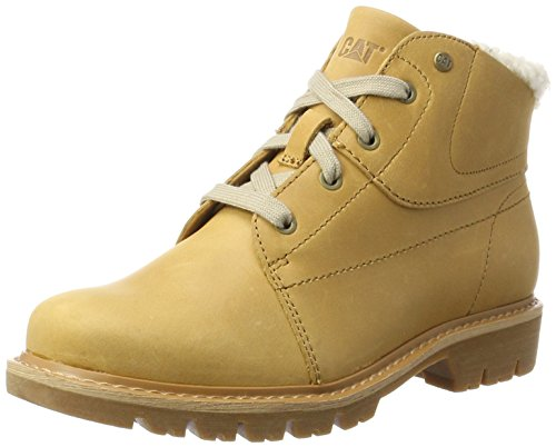 Caterpillar Fret Fur, Stivali Donna Giallo (Womens Warmed)