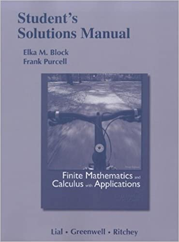 Finite Mathematics And Calculus With Applications 9th Edition Pdf