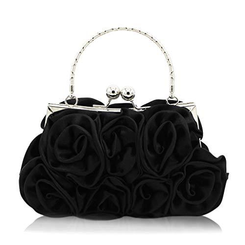 Soirée Black Forfait Fleur De Banquet Soirée fanbufan Sac Soirée De Robe qZgFzTwax