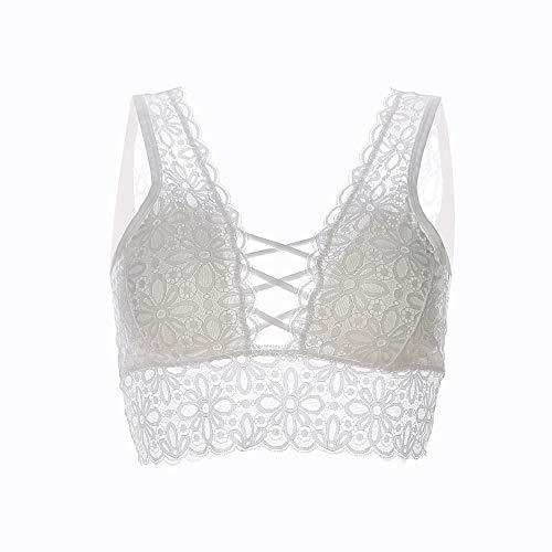 Corset de Encaje para niñas, ❤ Absolute Mujeres Lencería Corset Lace Underwire Racy Muslin Sleepwear Bra: Amazon.es: Ropa y accesorios