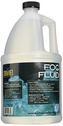 Chauvet DJ 1 Gallon of Fog Smoke Juice Fluid for Fog Machines (8 Pack) | 8 x FJU by CHAUVET DJ
