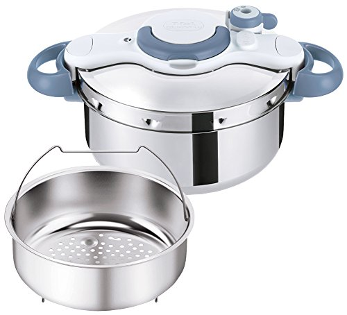 T-fal Pressure Cooker ''ClipsoMinut Easy'' 4.5L (Sax Blue) P4620670【Japan Domestic genuine products】 【Ships from JAPAN】 by T