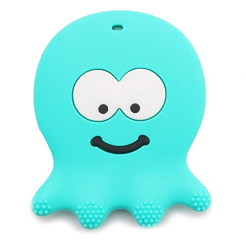 6 Month Old Baby Teething Toys - BPA Free Silicone - Easy to