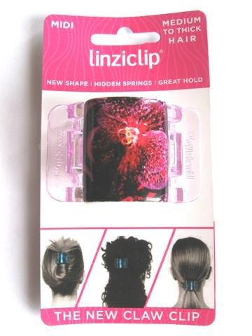 Linziclip Midi The Ultimate Claw Clip Purple Lily