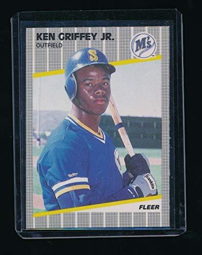 - KEN GRIFFEY JR. 1989 FLEER #548 RC *SEATTLE MARINERS* C